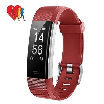 Montre Connectée Bracelet Connecté Intelligent Sportif Électronique IP67, Mpow Fitness Tracker dActivité Fréquence