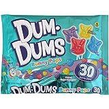 Dum Dums Easter Bunnies Pops 10.5 oz. Bag (30 Pops)