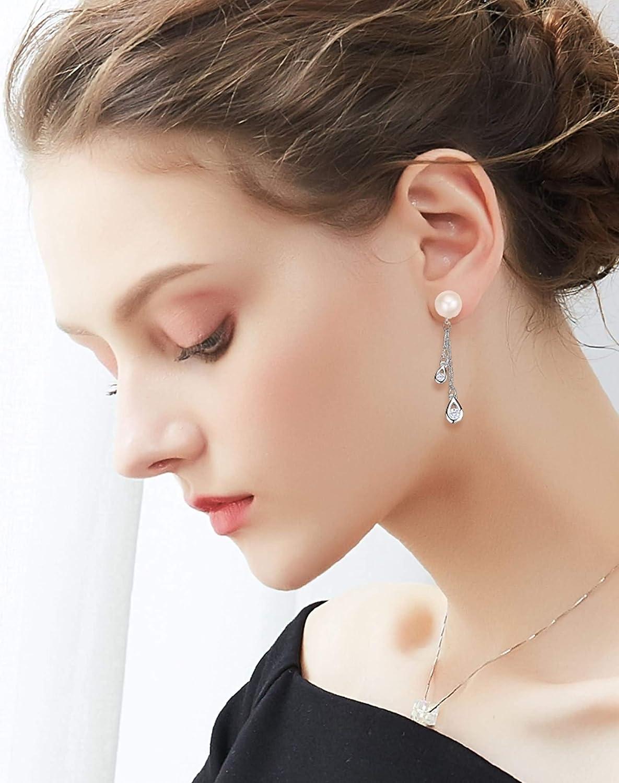 Silver Material Earrings Girls Women Tears Stud Earrings Silver Anniversary Silver 2CM