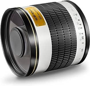 Walimex Pro 19592 - Objetivo para Canon (diámetro: 34 mm, Enfoque ...