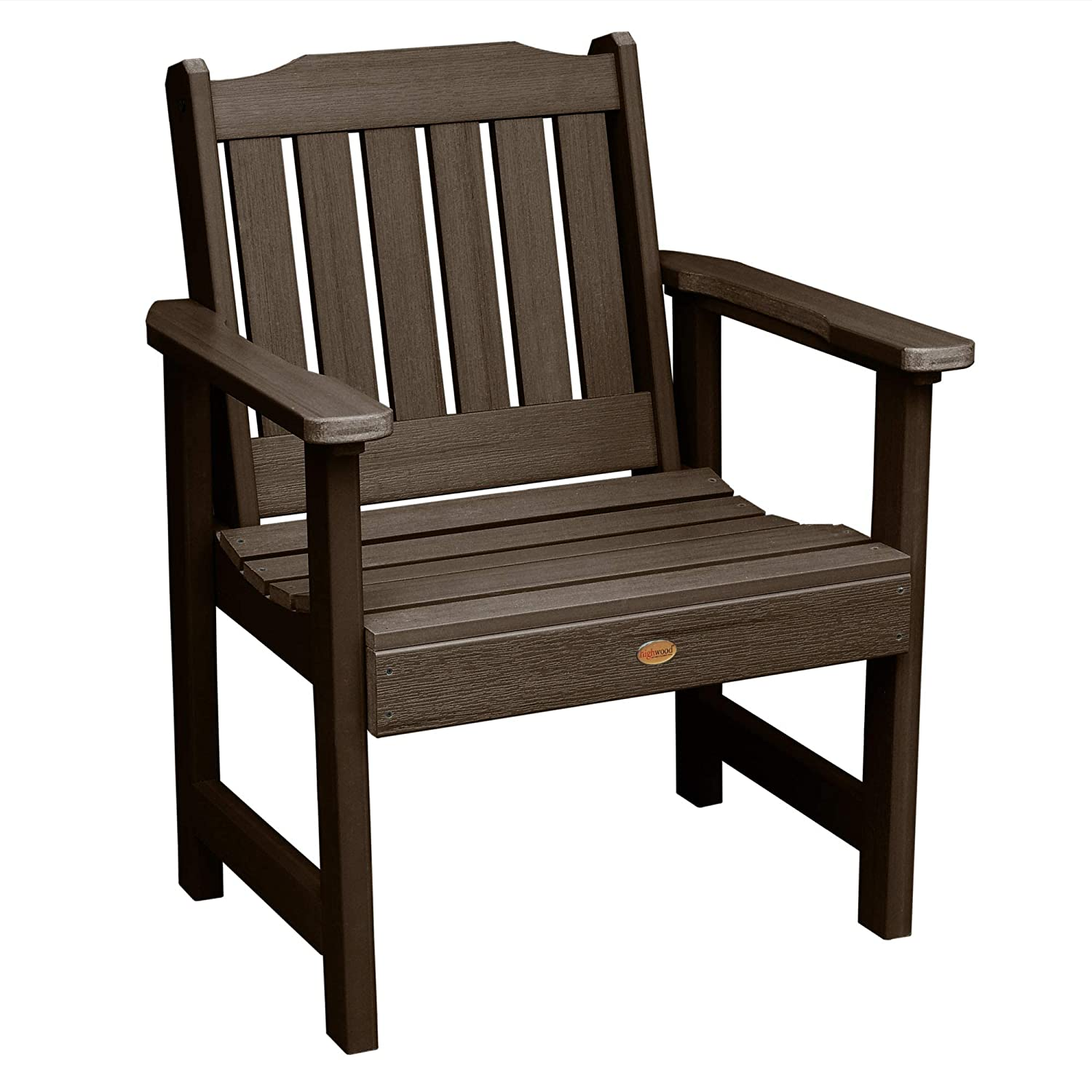 Highwood Lehigh Garden Chair, Weathered Acorn