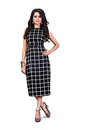 c3d301dfb Diego Women S Black Dresses  Amazon.in  Clothing   Accessories