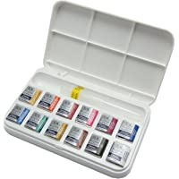 Windsor & Newton Cotman Hafupan 12 colors with Suihitsu by Winsor & Newton