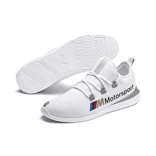 e56f046b405c Puma Men Motorsport Licensed BMW MMS Evo Cat Racer White Casual Shoes