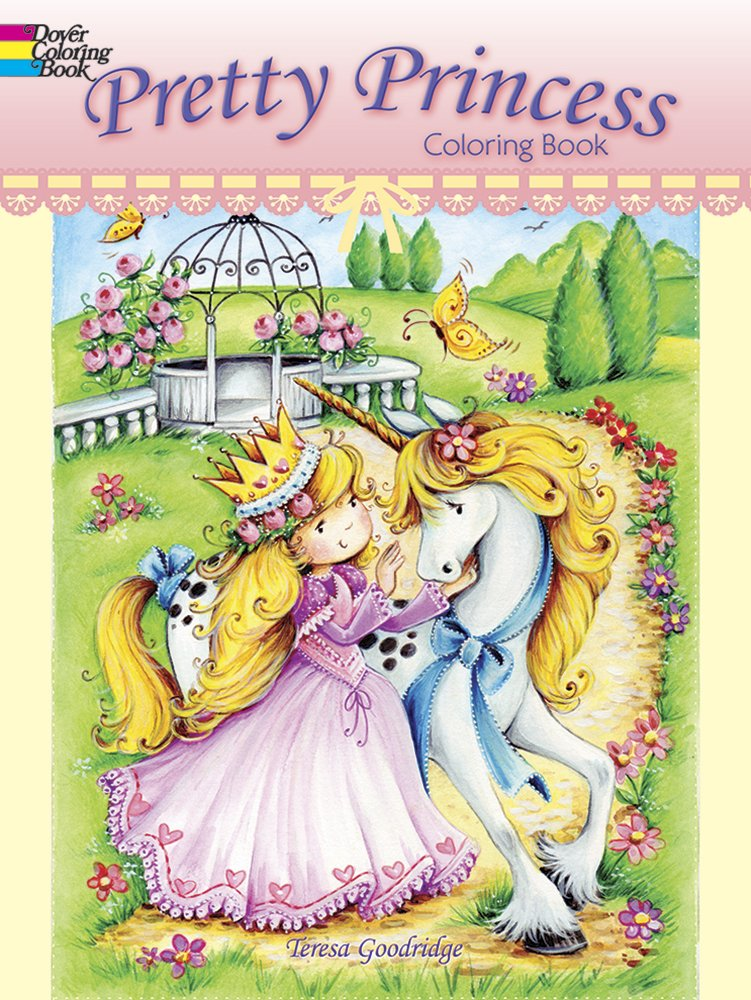 Pretty Princess Coloring Book (Dover Coloring Books): Teresa ...