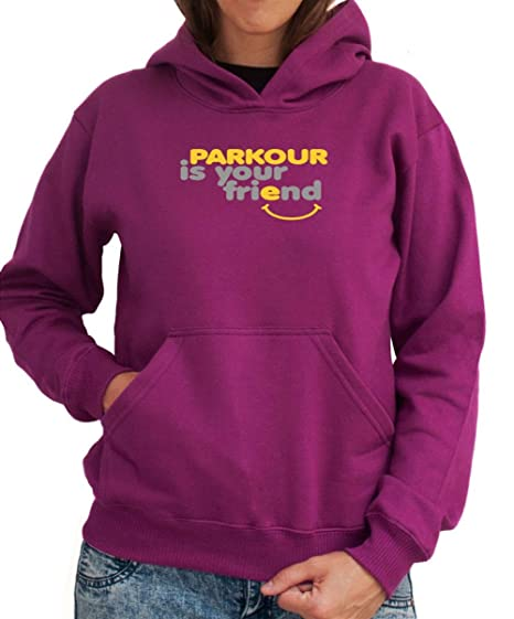 Sudadera con Capucha de Mujer Parkour IS YOU FRIEND