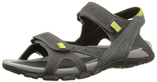 fe61195f1908 Hi-Tec Men s Laguna Strap Open-Toe Sandals Grey Size  7  Amazon.co ...