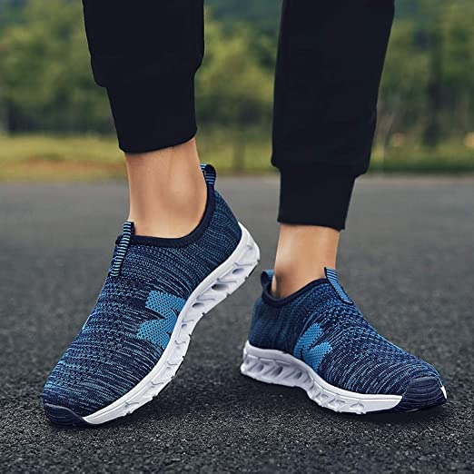 Deportivo Zapatos de Hombre,BBestseller Zapatillas de Running para Hombre Deportivas Zapatos para Correr Malla Respirable Gimnasio Running Sneakers: ...