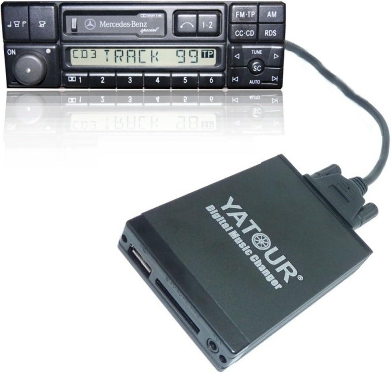 Yatour Dmc Aux Adapter Interface Für Usb Sd Karte Auto