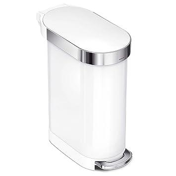 Amazon.com: Simplehuman - Cubo de basura con pedal, 45 L ...