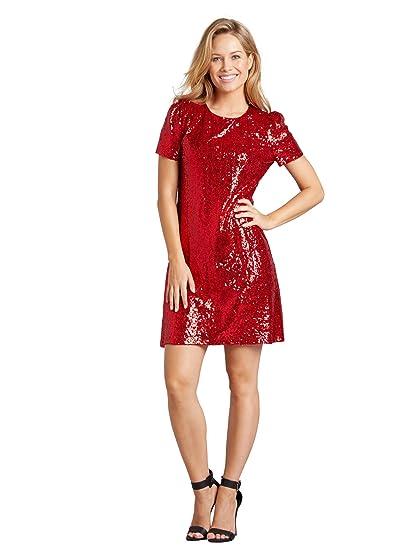 808323f436e Mela Sequin Embellished Party Dress: Amazon.co.uk: Clothing