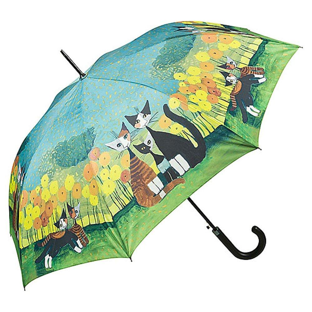 Von LILIENFELD Parapluie Automatique Femme Chat Art Motif Rosina Wachtmeister: All Together