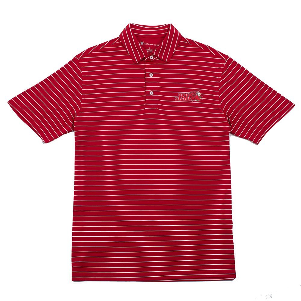 Oxford NCAA Mens Turner Classic Stripe Polo
