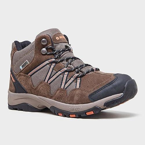 Hi Tec Dexter Mid Walking Boots Sentieri escursionistici Brown, Marrone, 45