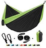 Defler Double/Camping Hammock with Straps- 500lbs