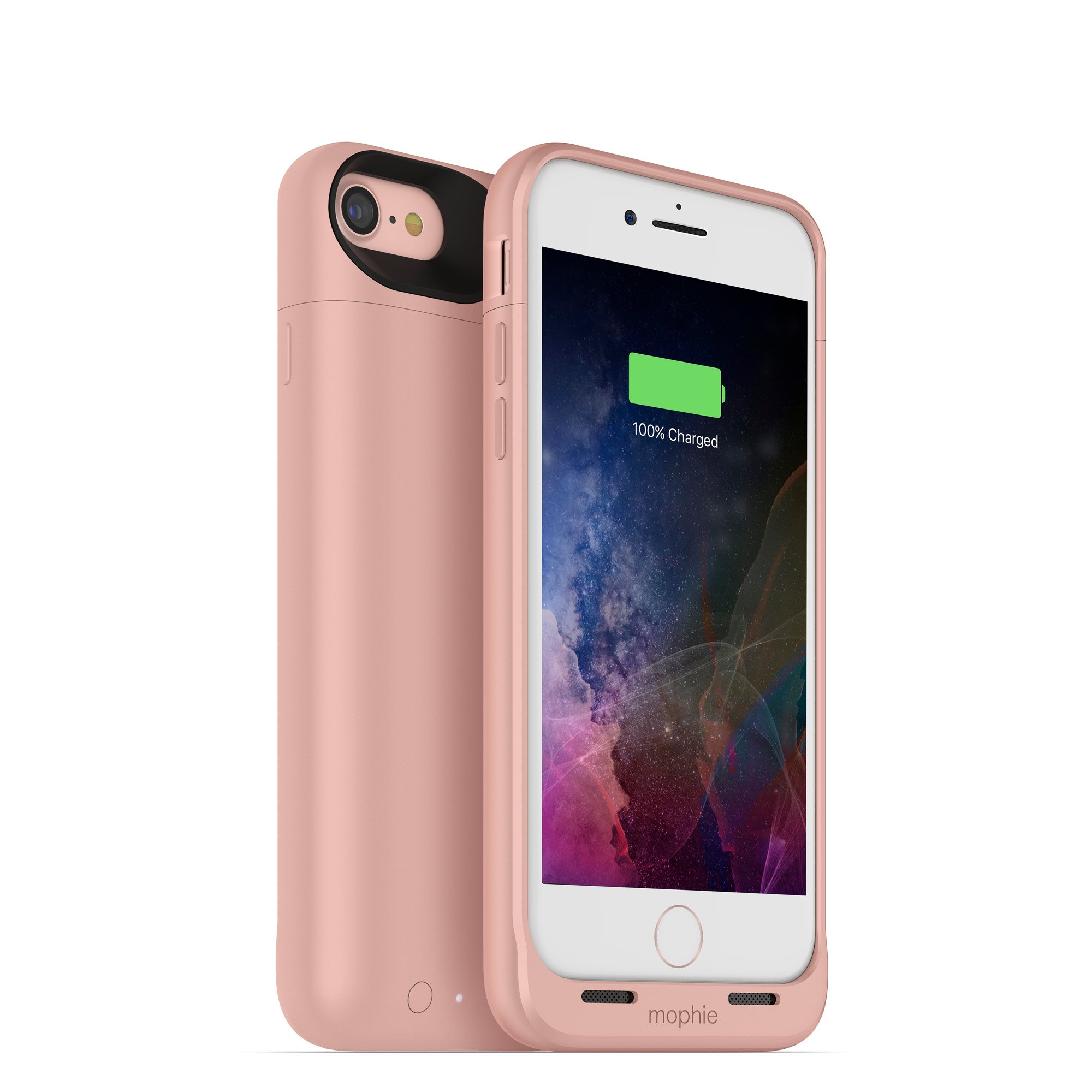 mophie juice pack wireless  - Charge Force Wireless Power - Wireless Charging Protective Battery Pack Case for Apple iPhone 8 and iPhone 7 - Rose Gold by ZAGG