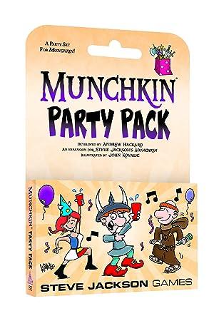 Steve Jackson Games SJG01572 Munchkin Party Pack - Juego de Mesa ...