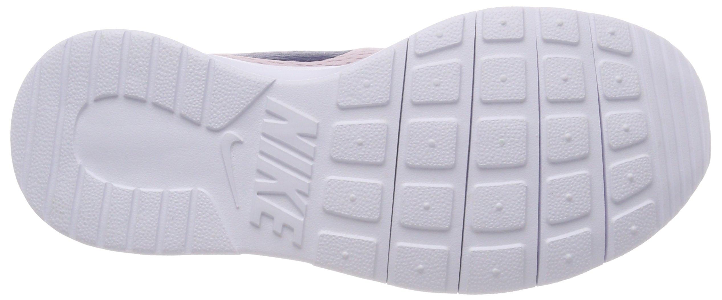 Nike Girl's Tanjun Shoe Barely Rose/Navy/White Size 4 M US by Nike (Image #3)