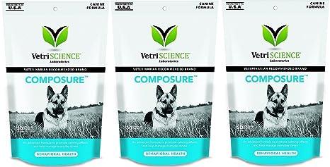 amazon com vetriscience laboratories composure for dogs calming