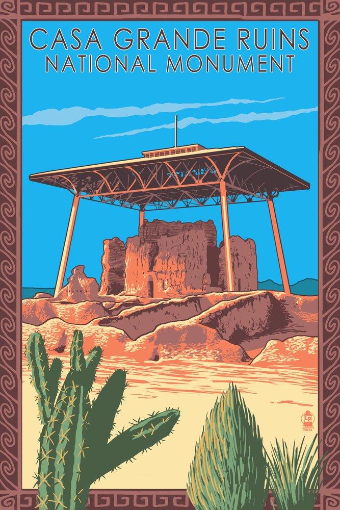 大きな取引 Casa Monument Grande Giclee Ruins National Monument – Arizona Arizona 9 x 12 Art Print LANT-32493-9x12 B017E9TJC4 36 x 54 Giclee Print 36 x 54 Giclee Print, its a beautiful music:add3a407 --- arianechie.dominiotemporario.com