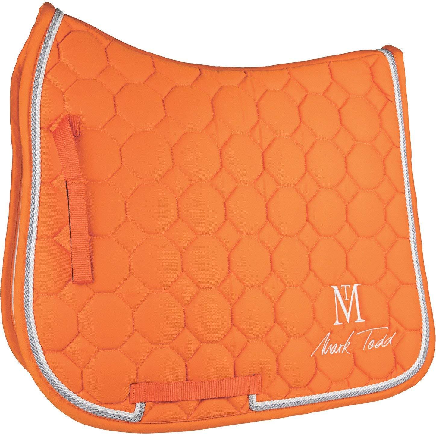 Mark Todd Matrix キルティングサドルパッド フルサイズ オレンジ   B07G9H4WG6