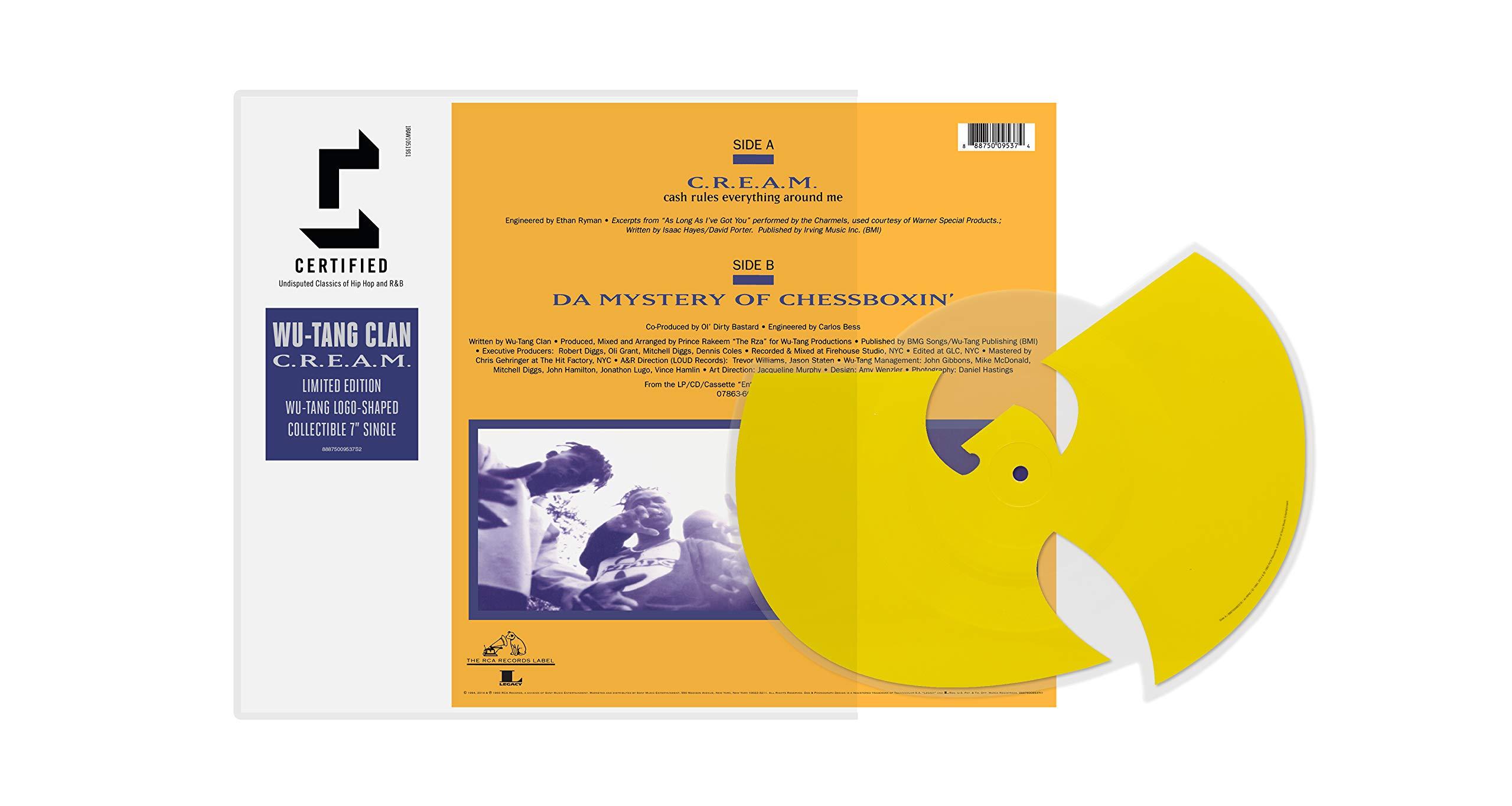 Vinilo : Wu-Tang Clan - C.r.e.a.m. /  Da Mystery Of Chessboxin (7 Inch Single)