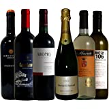 福袋 ワイン名産国周遊 産地と品種の飲み比べ ソムリエ厳選 ワインセット 赤 3本 白 2本 泡 1本 750ml 6本