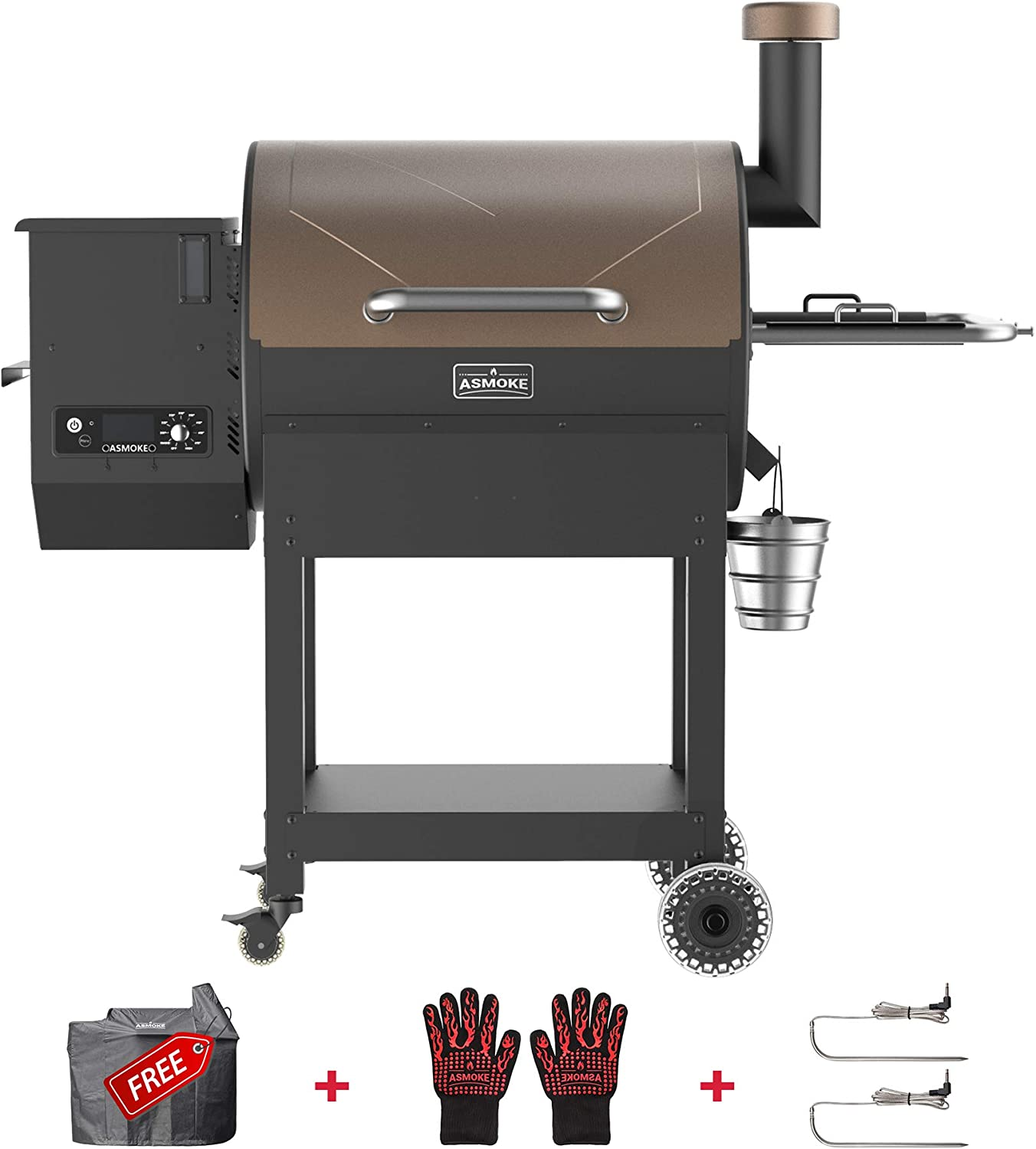 ASMOKE Pellet Grill and Smoker – Easy to Use and Clean