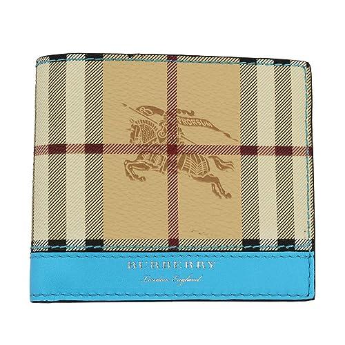 Burberry cartera billetera bifold de hombre en piel nuevo Reg blu: Amazon.es: Zapatos y complementos