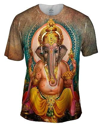 cf920ba4e46162 Amazon.com  Yizzam- India - Ganesh Hindu God -TShirt- Mens Shirt  Clothing