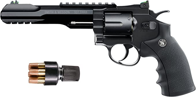 Best revolvers : Smith & Wesson 327 TRR8 CO2 Revolver