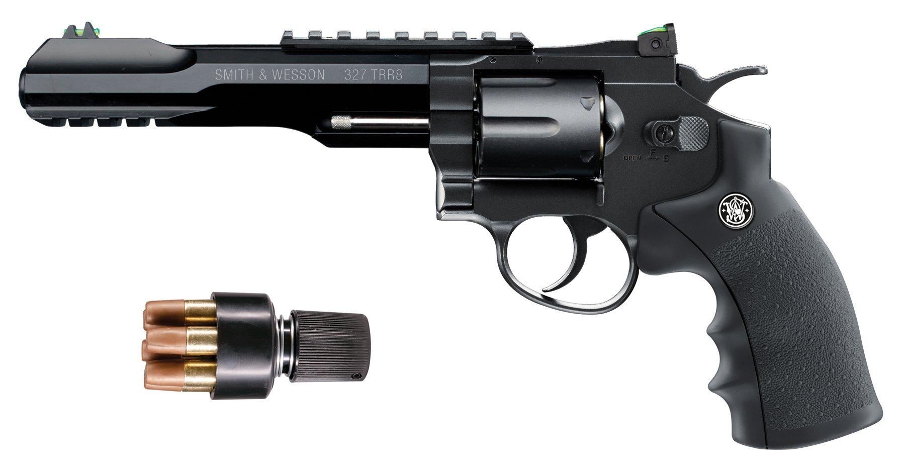 amazoncom smith wesson 327 trr8 177 caliber steel bb co2