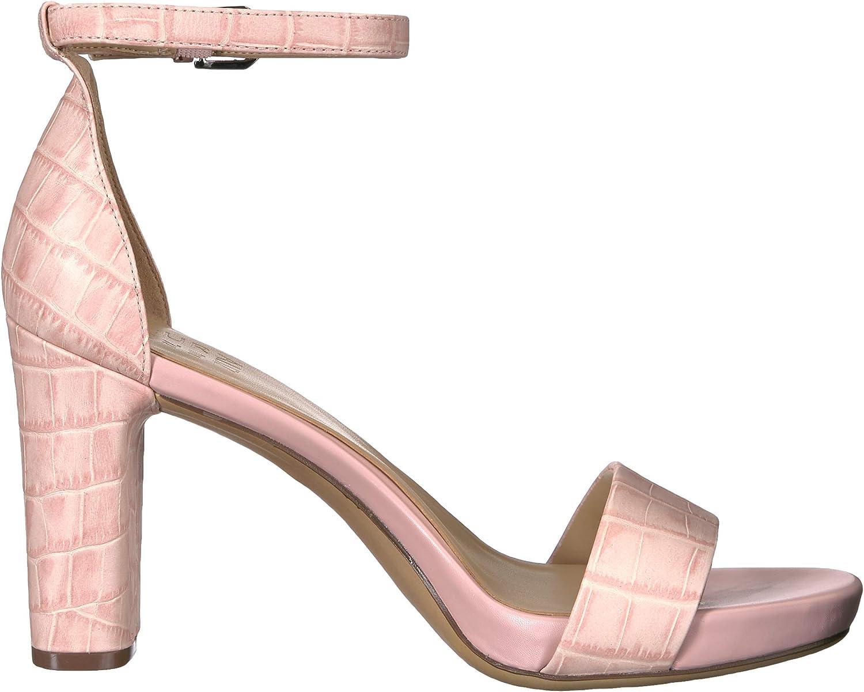 Naturalizer Women's Joy Heeled Sandal Rose Pink