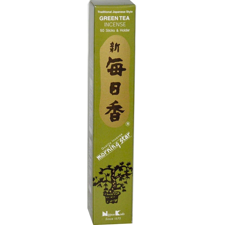【全品送料無料】 Nippon Stick Kodo, 50 Green Tea Incense, 50 Kodo, Stick & Holder B0006MXEFA, オーケーマート:8250b10b --- egreensolutions.ca