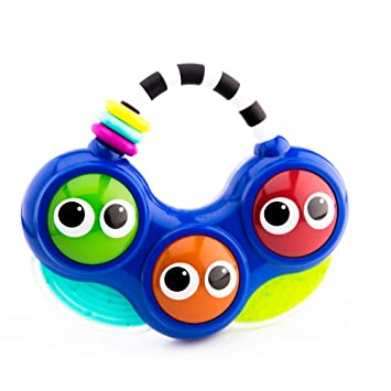 Sassy Do-Re-Mi Take Along Musical Toy | Lights and Sounds | Easy to Hold  Carry Handle | Replaceable Batteries