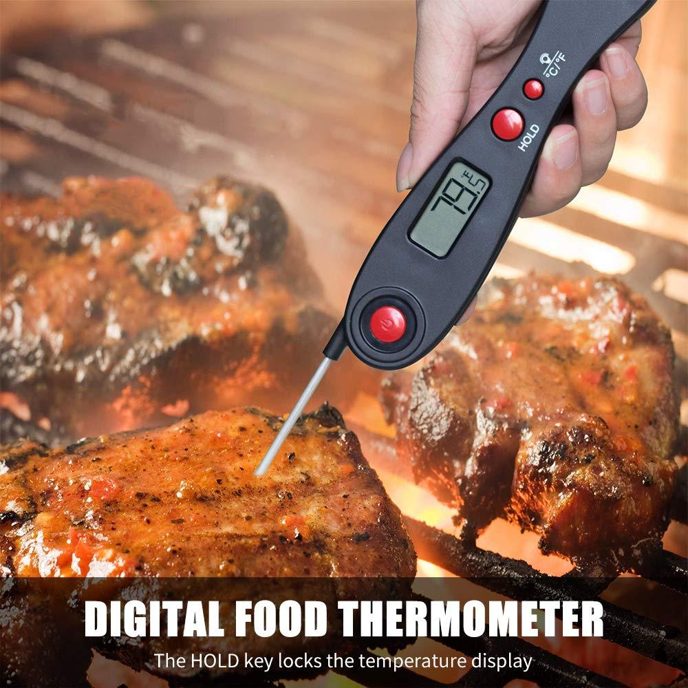 Weehey Termómetro Digital para Alimentos Retroiluminación ...