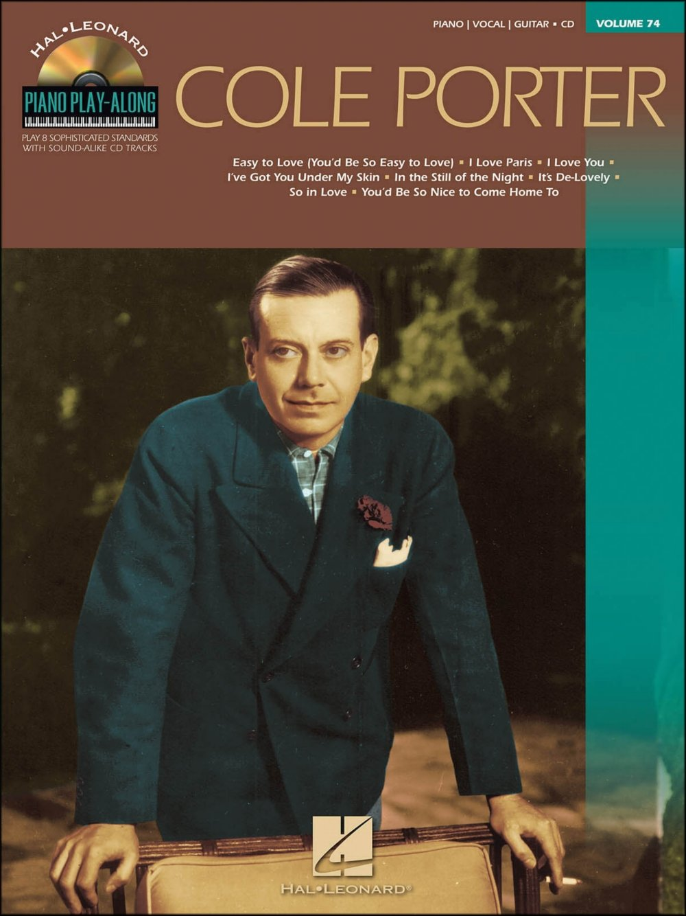 Amazon com: Hal Leonard Cole Porter - Piano Play-Along