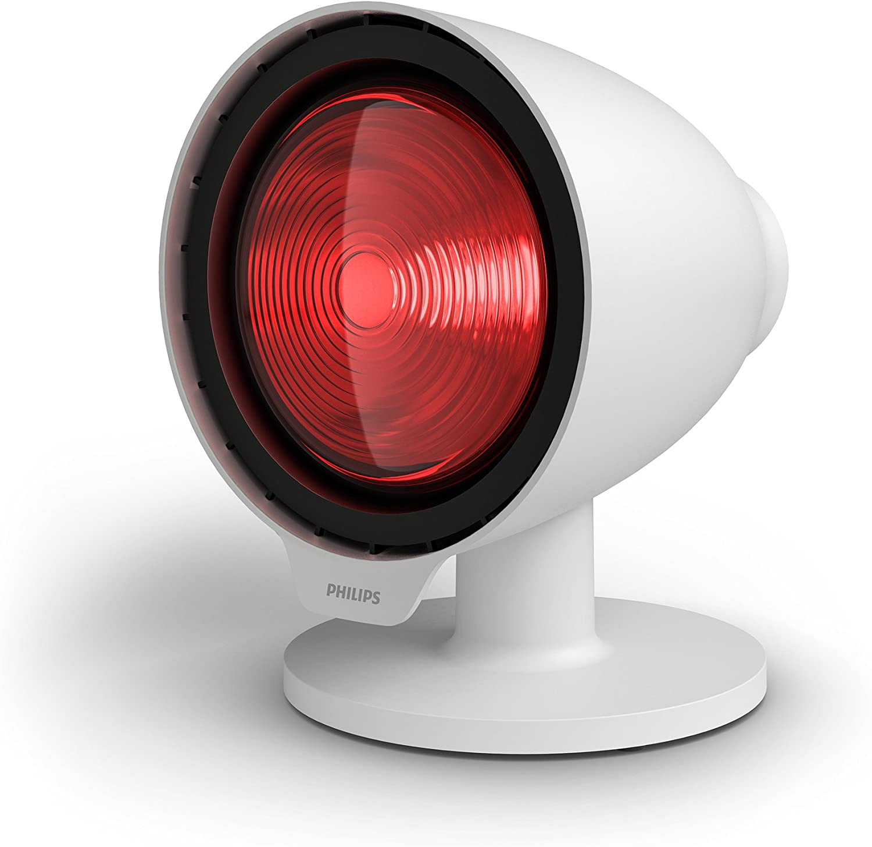 Philips pr3110/00InfraCare lámpara de infrarrojos para naturales Tratamiento de Dolor Muscular, 150W