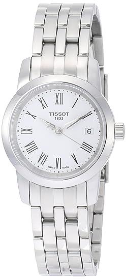 Tissot CLASSIC DREAM T0332101101300 - Reloj de mujer de cuarzo, correa de acero inoxidable color