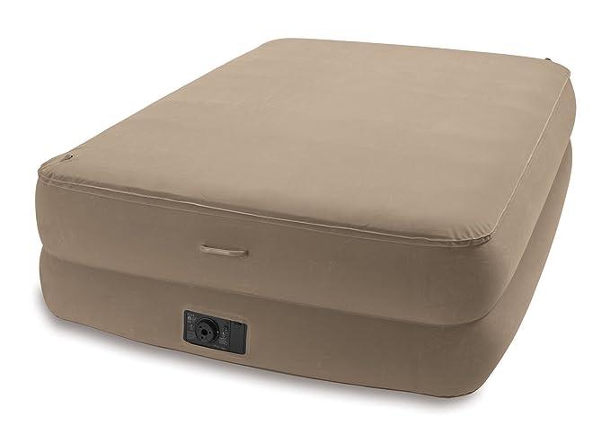 Amazon.com: Intex Espuma parte superior Airbed Kit, reina ...