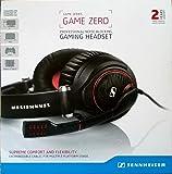 Sennheiser 506079 Game Zero Gaming-Headset (professionell, geräuschabschirmend) schwarz
