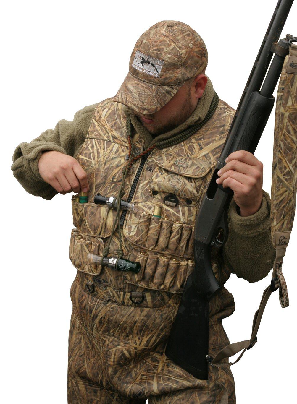 e62d761f84e14 Avery Outdoors Ducks Unlimited Series Killer Weed Camo Neoprene Wading Vest:  Amazon.ca: Sports & Outdoors