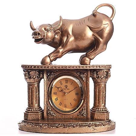 SESO UK- Reloj de Mesa Retro Europeo Manténgalo Mudo Relojes de ...
