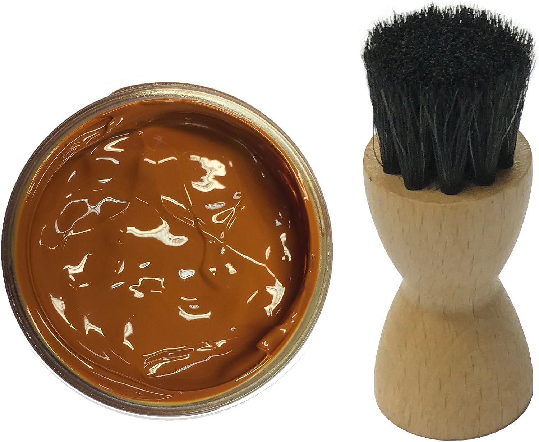 Famaco - Tinte marrón canela: Amazon.es: Zapatos y complementos