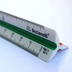 Scalimetro 30cm Plastic Professional 1: 101: 201: 251: 501: 751: 1001: 1251: 2001: 2501: 5001: 7
