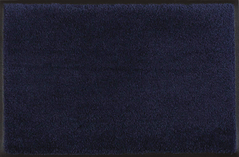 Wash+dry Fußmatte Marineblau 120x180 cm