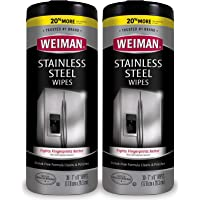 Weiman Stainless Steel Wipes, 30 ct-2 pk