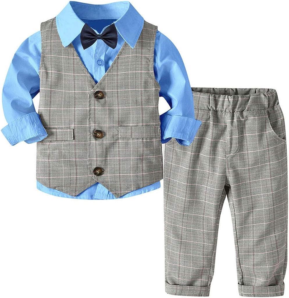 Boys Shirt Boys Blue Shirt Formal Shirt and Tie  Boys Smart Suit Wedding Shirts