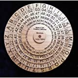 Mexican Army Cipher Disks - Historical, Powerful, Useful Encryption Machine by Creative Crafthouse