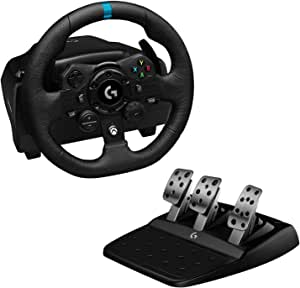 Volante Logitech G923 Trueforce Xbox One, Xbox Series X e Pc